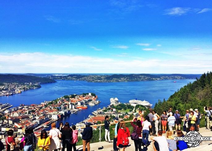 panorama bergen norvegia
