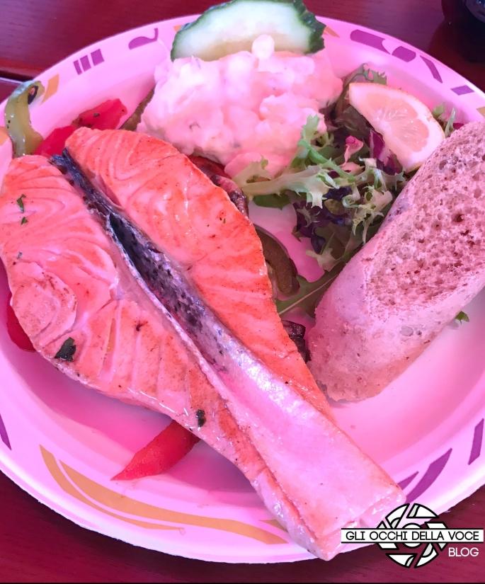 bergen norvegia porto mercato pesce